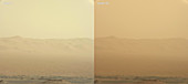 Mars Dust Storm, 2018
