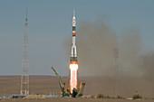 Soyuz MS-10 launch, Kazakhstan
