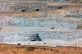 Copper Deposits in the Morenci Copper Mine
