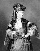 Lady Mary Wortley Montagu, English Author and Poet