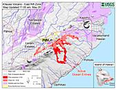 Kilauea Eruption, May 2018