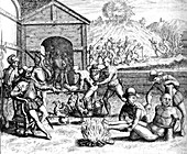 Spanish Persecution in the West Indies, 16th Century