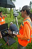 Air Monitor, Kilauea 2018