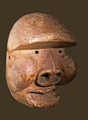 Bad Shaman Mask, Bijogo Country Culture, Alaska