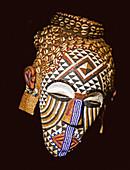 Mask of the Kuba People, Democratic Republic of Congo