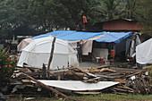 Repairs After Tsunami, American Samoa
