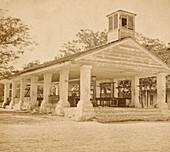 Former Slave Market, St. Augustine, Florida, 1870