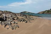 Burgh Island from Bantham