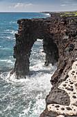 Holei Sea Arch, Hawaii, USA
