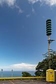 Tsunami warning siren, Hawaii, USA