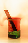 Copper reacts with nitric acid, 1 of 3