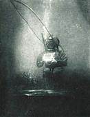 Boutan's Underwater Photograph, 1899