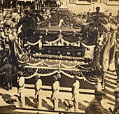 Abraham Lincoln, Catafalque and Coffin, 1865