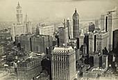 Aerial of New York, c. 1920