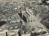 Aerial of Milan Duomo, c. 1917