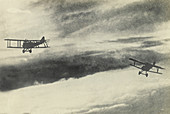 Two Airplanes, World War 1