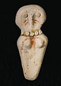 Female Clay Figurine