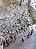 Visitors at Dinosaur National Monument