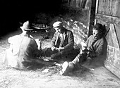 Hobos Playing Cards, 20th Century