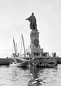 Suez Canal, Ferdinand de Lesseps Statue