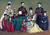 Meiji, Emperor of Japan and the Imperial Family, 1900
