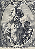 Bacchus, Roman God of Wine