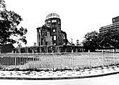 WWII, Aftermath of Atomic Bomb, Hiroshima Peace Memorial
