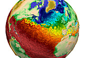 Global Water Surface Temperatures, 2015