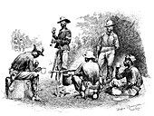 Buffalo Soldiers, 10th Cavalry Regiment, 1888