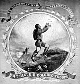 Buffalo Soldiers, 24th Infantry Regimental Flag, 1860s