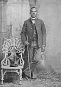 Buffalo Soldier Sharpshooter, 9th Cavalry Regiment, 1880s
