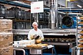 Industrial bakery, UK