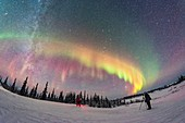 Photographers Under the Northern Lights