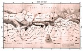 Mars Map, 1962