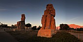 Colossi of Memnon at winter solstice sunrise