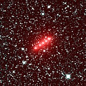 Comet C 2014 Q2, time-lapse NEOWISE images