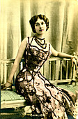Lina Cavalieri, Italian opera singer