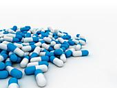 Blue pills, illustration