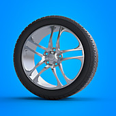 Illustration of a tyre