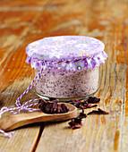 Homemade hibiscus salt