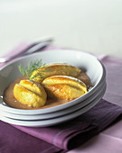 Quenelles (hake dumplings, France)