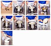 Making vanilla ice cream