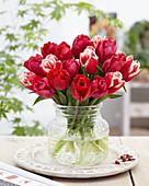 Strauß aus Crispa-Tulpen