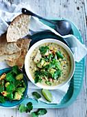 Roast Corn and Quinoa Chowder