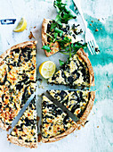 Spinach and Cheese Hunza Pie