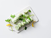 Fresh garlic and parsley butter