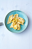 Ravioli al Limone - Zitronen-Ricotta Ravioli