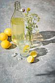 Hemonade outside in the sunshine