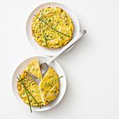 Zwiebel-Frittata aus dem Ofen