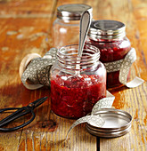 A jar of damson and fig relish
